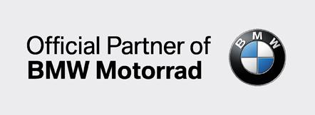Official Partner Of BMW Motorrad